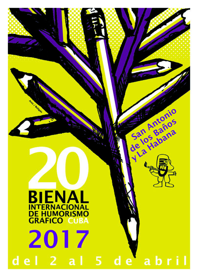 Bienal poster/ Ares & Boligán